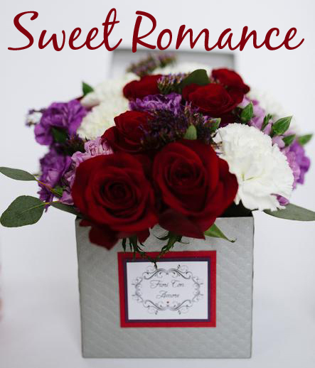Sweet Romance - Our version of puppy love! (5 inch box) V40022