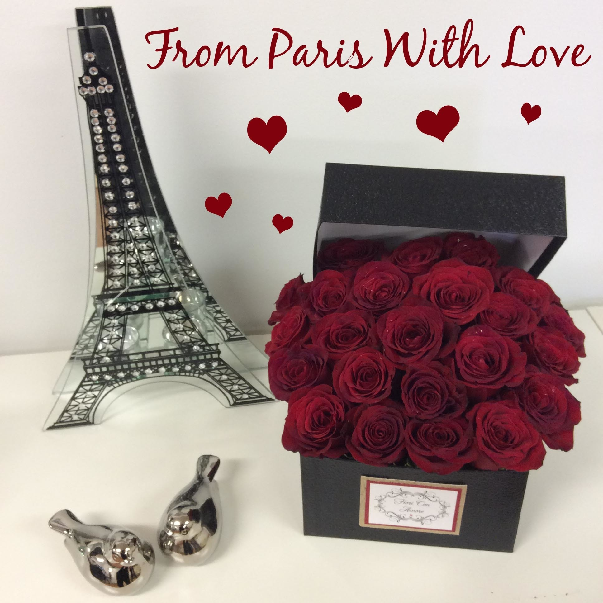 From Paris With Love - Shout your love from the rooftops! V40025