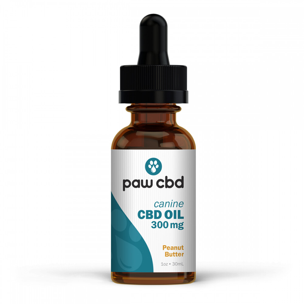 Pet CBD Oil 300MG -Peanut Butter - 30mL