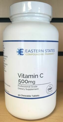 Vitamin C 500mg Chewable Tablets
