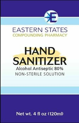 Eastern States Compounding Hand Sanitizer