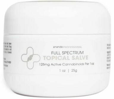 Full Spectrum CBD 125mg Salve