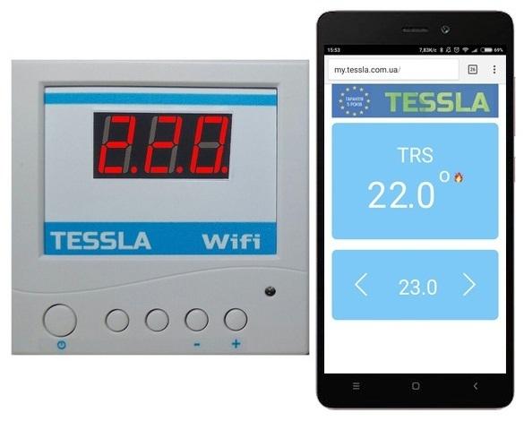 Терморегулятор TRSW Wi-Fi SK