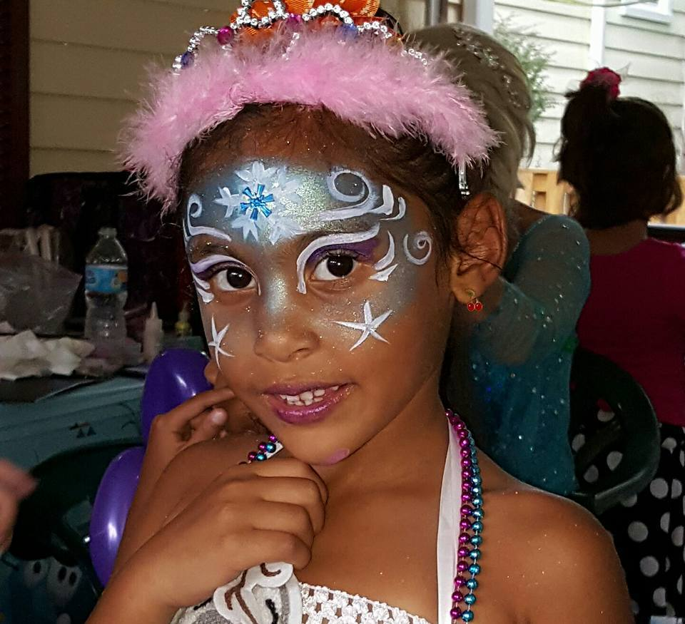 Princess Enchanted Plus Face Painting Enchanted Package