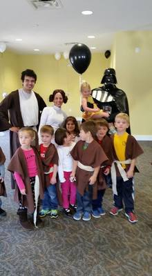 Exceptional Families Jedi Package (For 4-8 children)