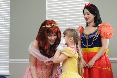 Exceptional Families Princess Package (For 1-4 children)