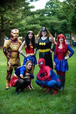 Super Hero Party Package
