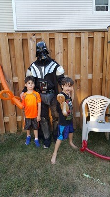 Star Wars  1.5 Hours with Balloons