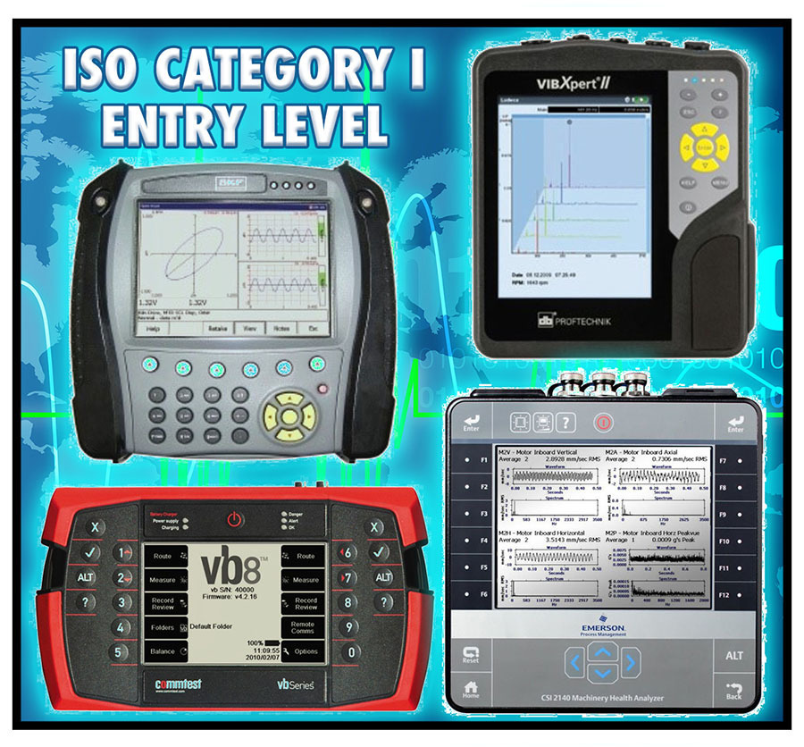 ISO Category I (Entry Level Vibration Analysis) - January 22-25, 2019 CHARLOTTE, NC