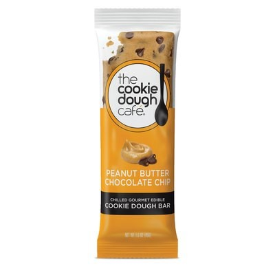 Peanut Butter Chocolate Chip Cookie Dough Bars 16 Pack (1.6 oz each)