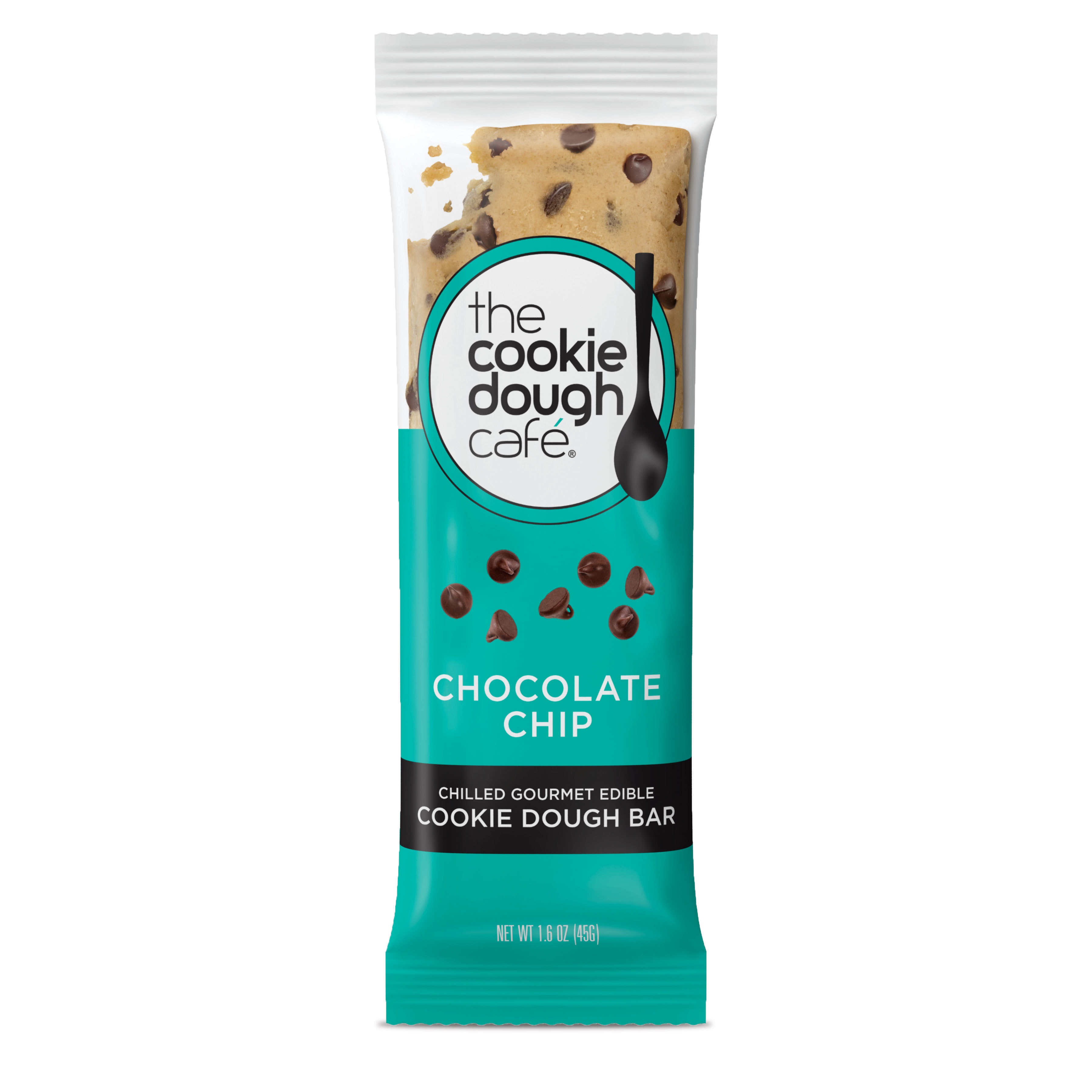Chocolate Chip Cookie Dough Bars 16 Pack (1.6 oz each) 7010