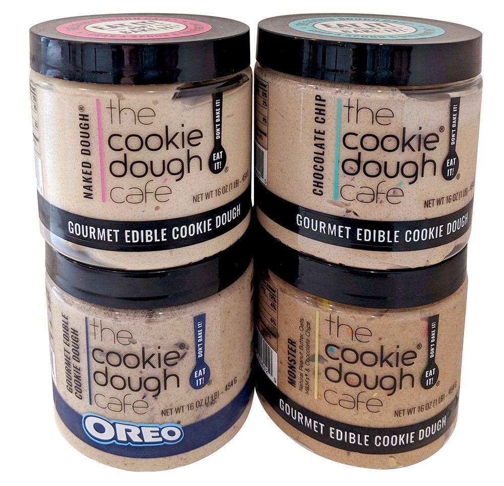 Edible Cookie Dough (4-Pack) 4001