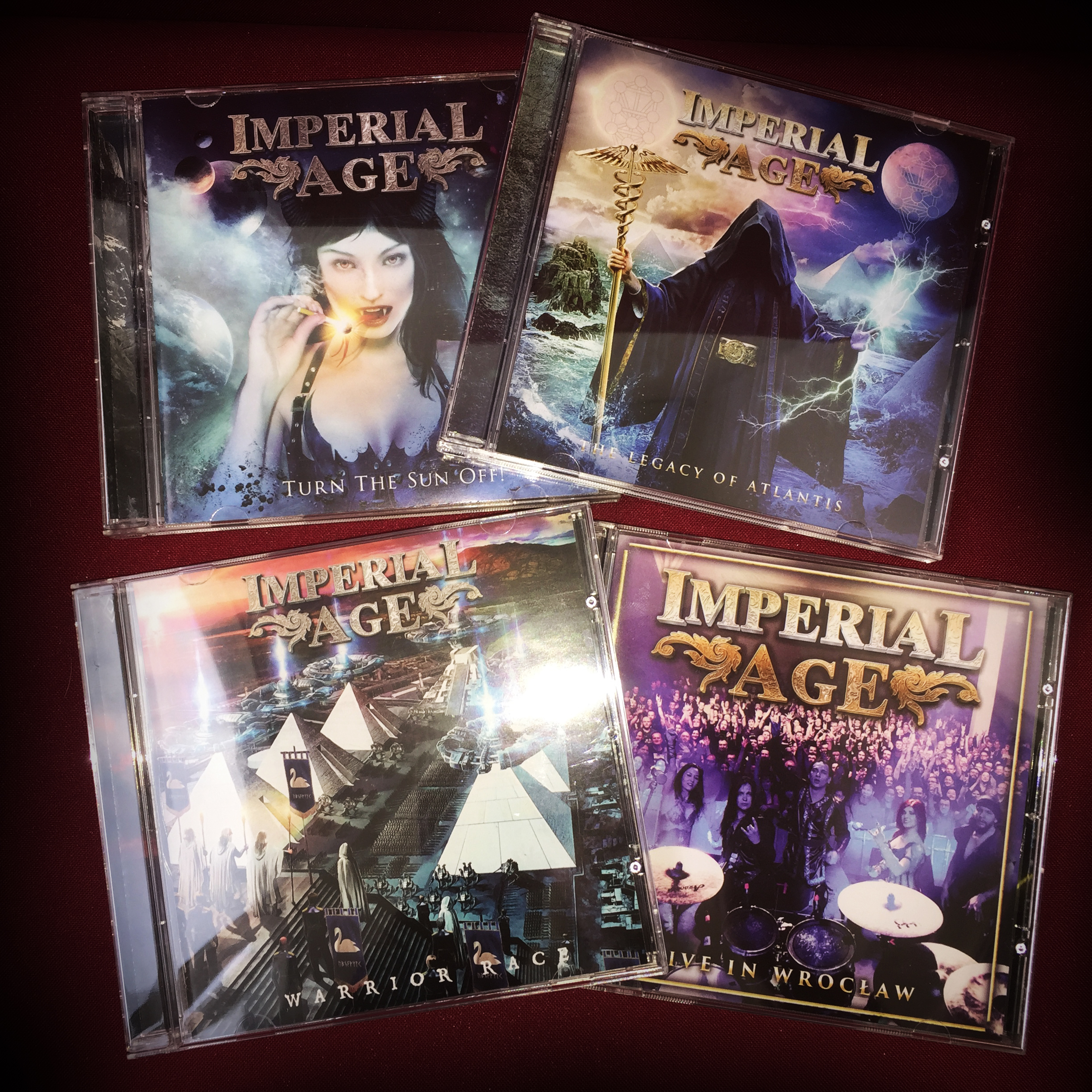 SPECIAL OFFER: 4 CDs for the price of 3 CDs!