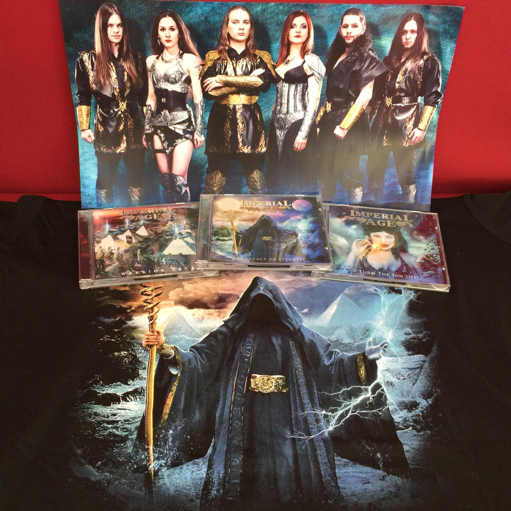 SPECIAL OFFER: 3 CDs, T-Shirt & A3 poster 00039