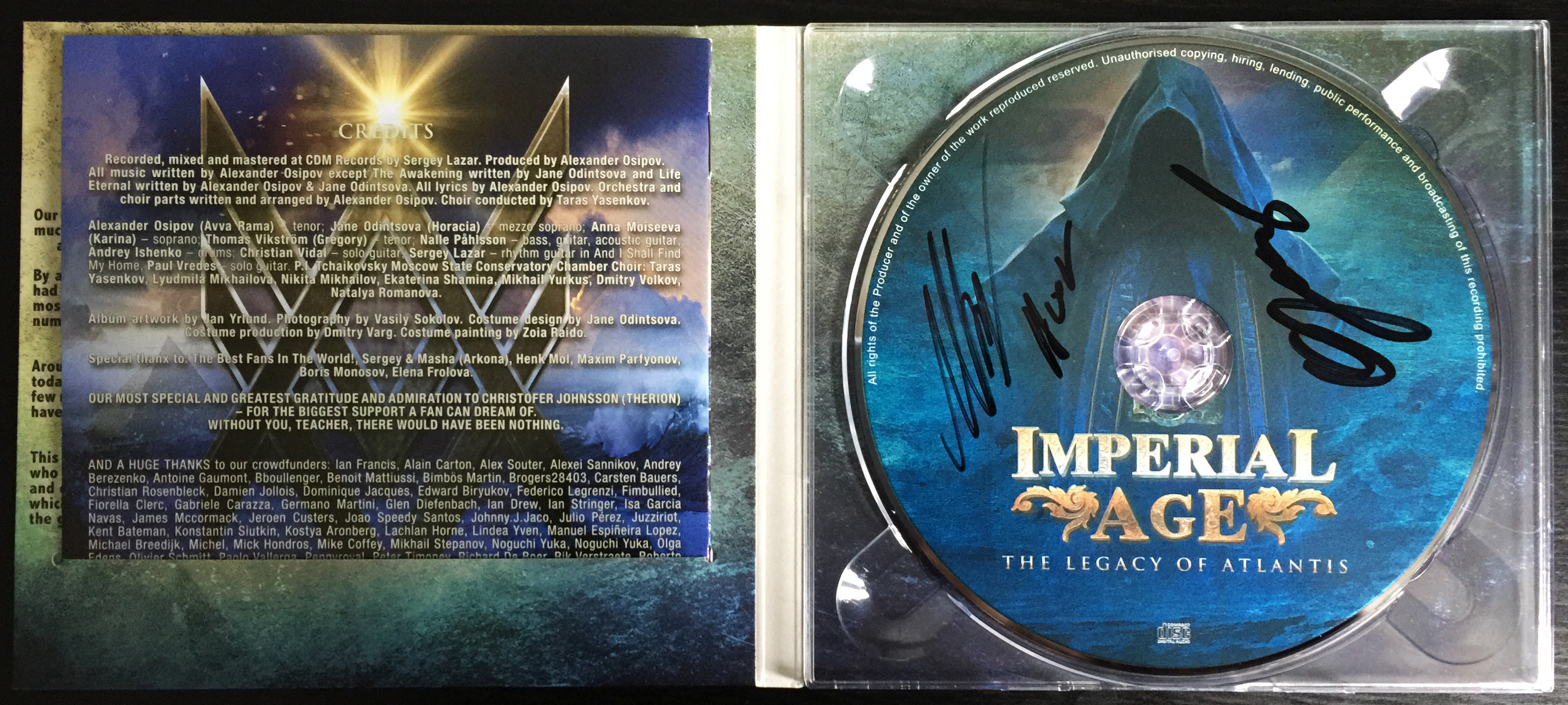 The Legacy of Atlantis [CD Digipack] LIMITED!