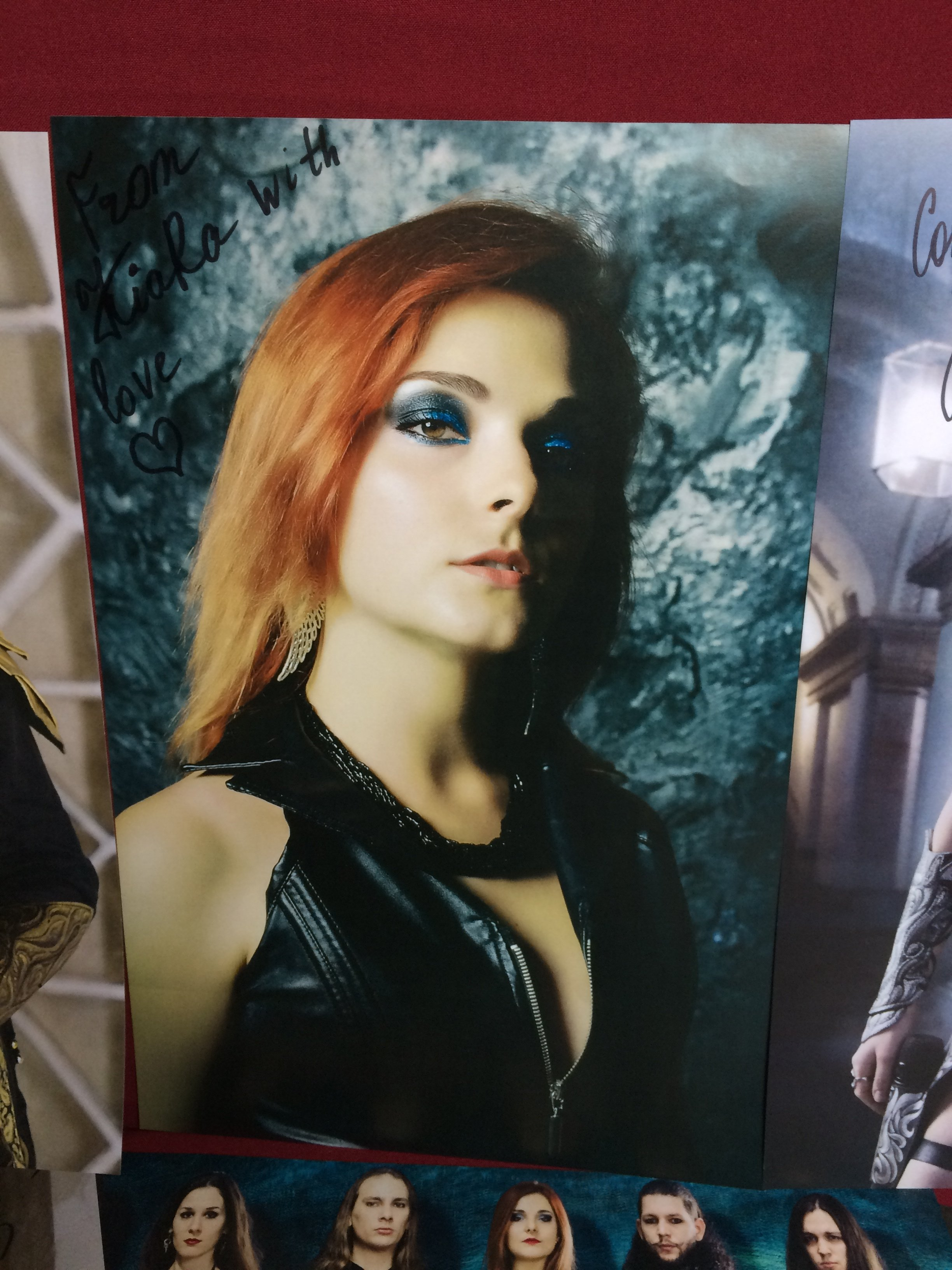 """Poster """"Anna"""". Signed"""