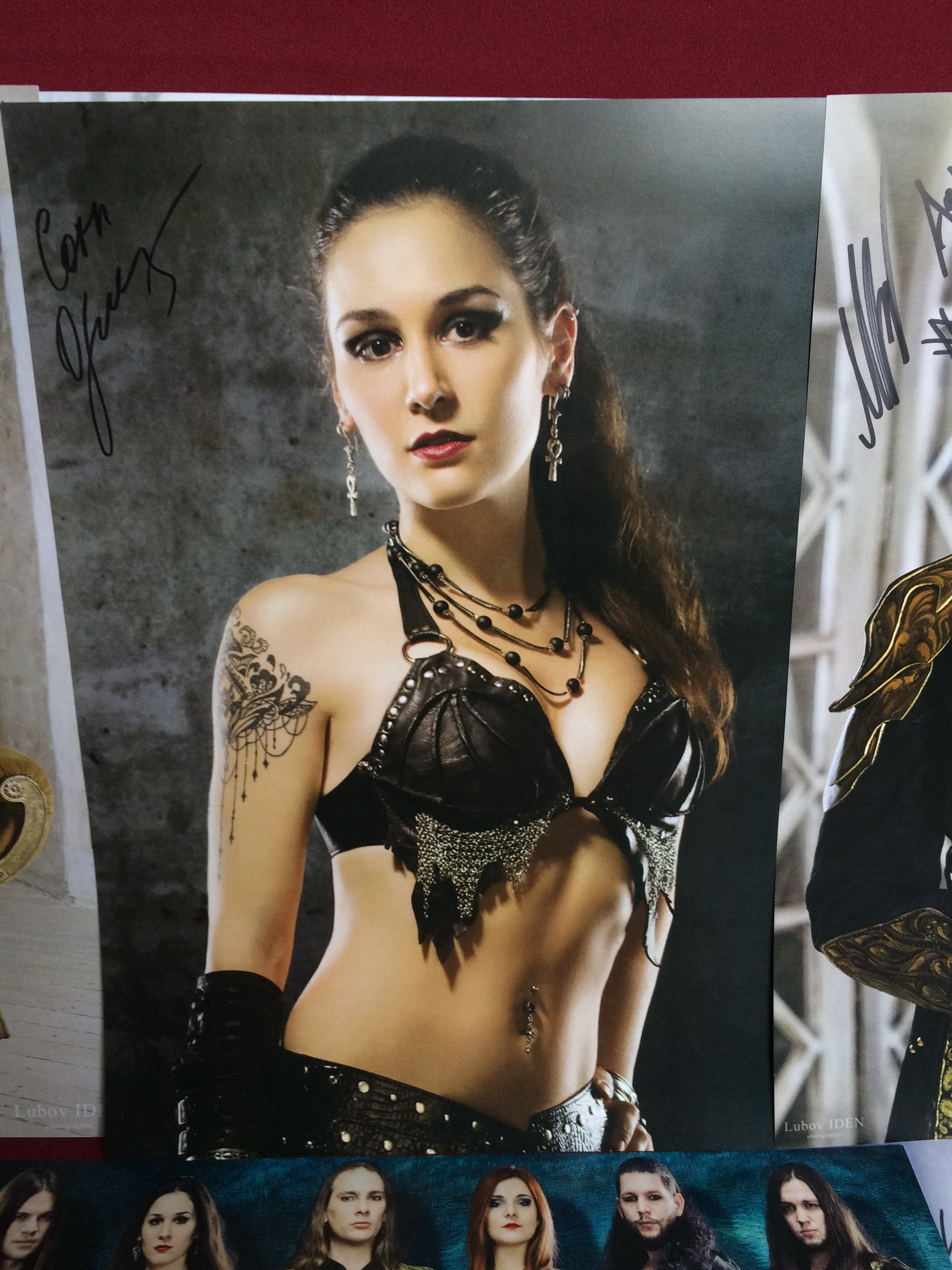 "Poster ""Jane1"". Signed"