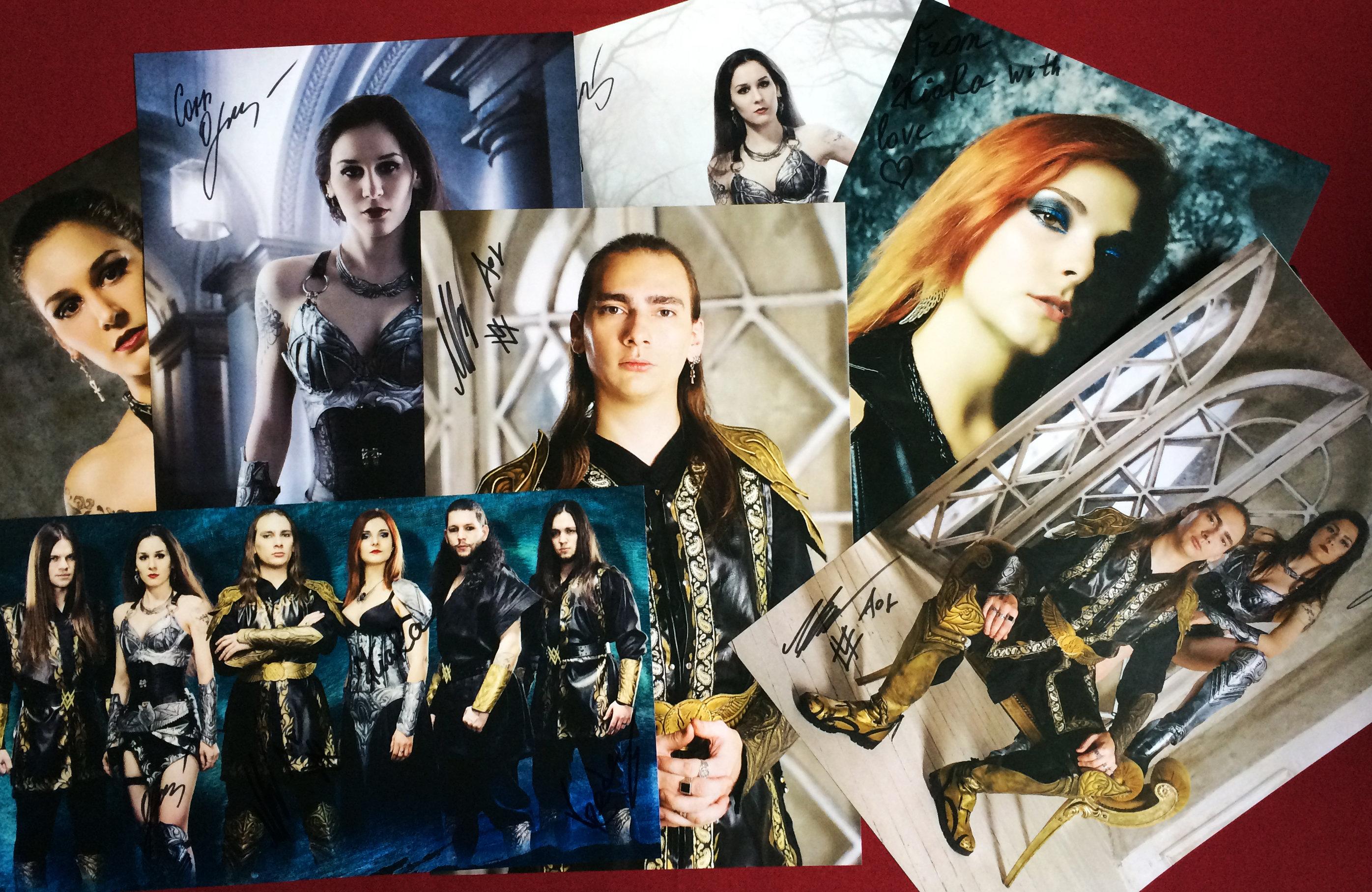 Custom poster. Signed. 00026