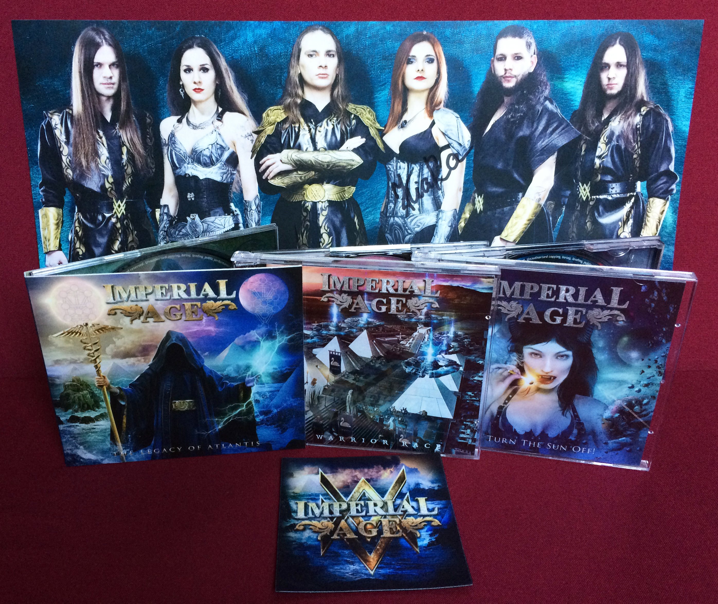 Special offer: 3 CDs, A3 poster and patch