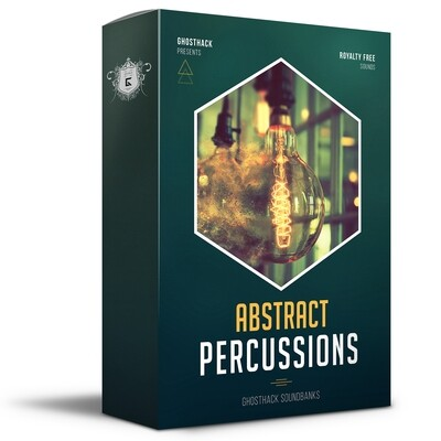 Abstract Percussions - Royalty Free Samples