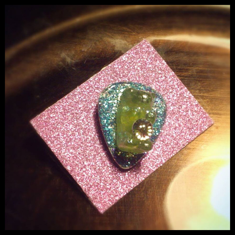 Guitar Pick Gummy Bear Lapel Pin
