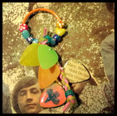 Monkees Keychain