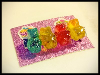 Mini Gummy Bear Brooch