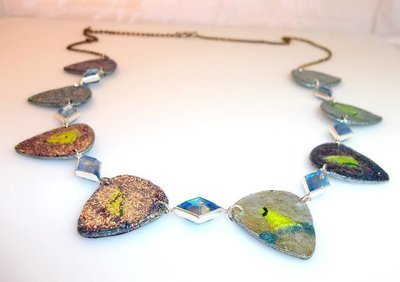 Long Guitar Pick Necklace