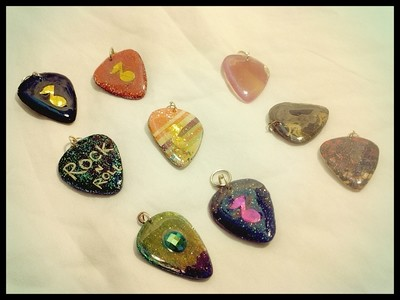 *Sale* Guitar Pick Pendants