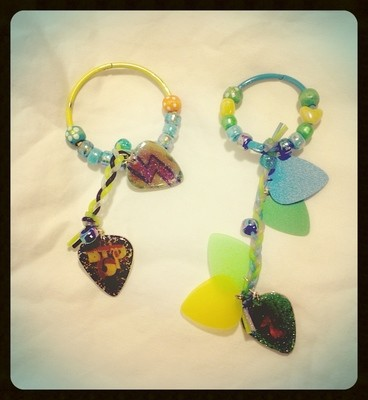 *Sale* Guitar Pick Keychains