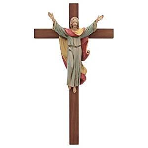 "Fontanini 12"" Risen Christ Crucifix *"