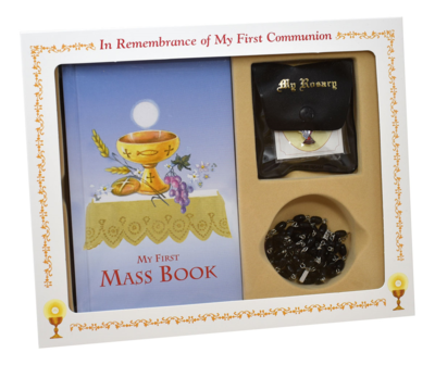FIRST MASS BOOK (MY FIRST EUCHARIST) BOXED SET