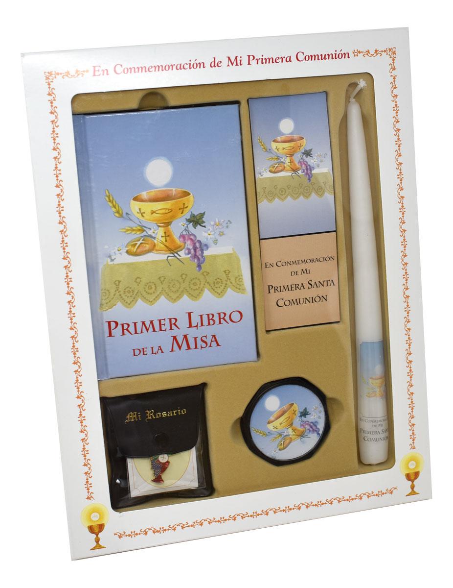 PRIMER LIBRO DE LA MISA (MY FIRST EUCHARIST) DELUXE SET