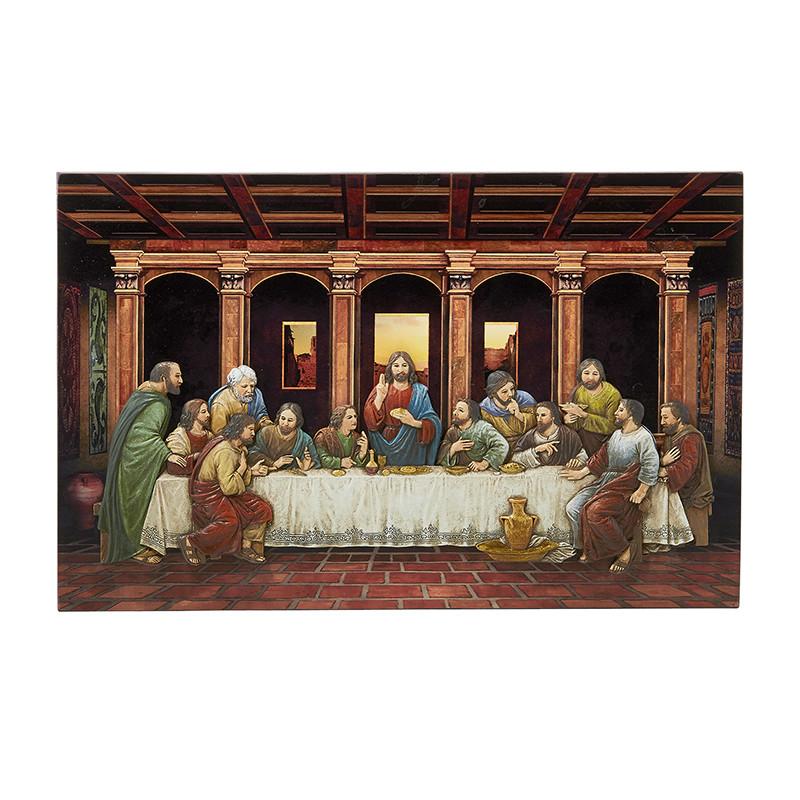 "Last Supper Adams 10 x 8.5"" Plaque"