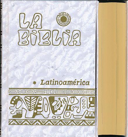 La Biblia Latinoamérica nacar con letra grande