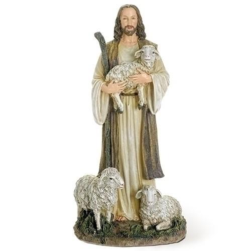 """12"""" GOOD SHEPHERD FIGURE"""