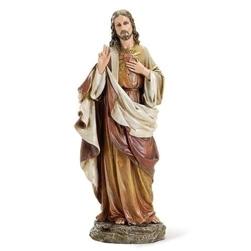 """10.25""""sacred heart jesus figure renaissance collection"""