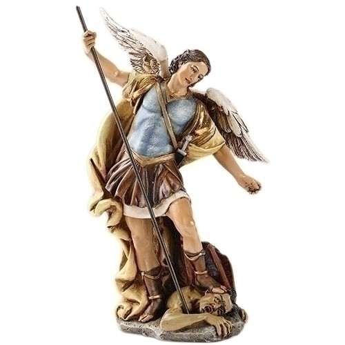 """7.25"""" ST. MICHAEL 6"""" SCALE FIG"""