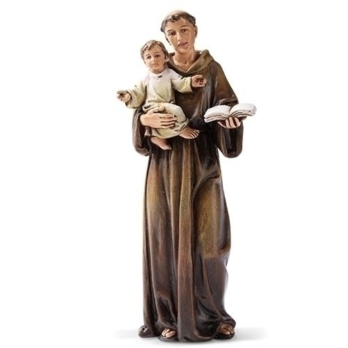 """6.25"""" ST. ANTHONY 6"""" SCALE FIG"""