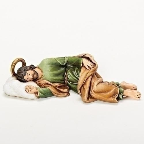 "8.25""W SLEEPING ST JOSEPH"
