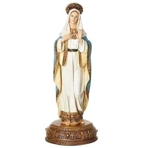 "10.5""IMMACULATE HEART OF MARY"