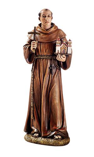 "8"" Toscana Saint Junipero Serra Statue"