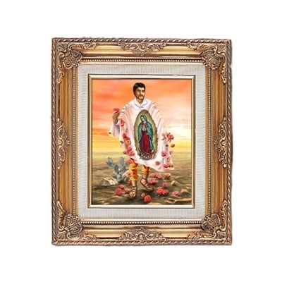 FRAMED ART GOLD ST DIEGO