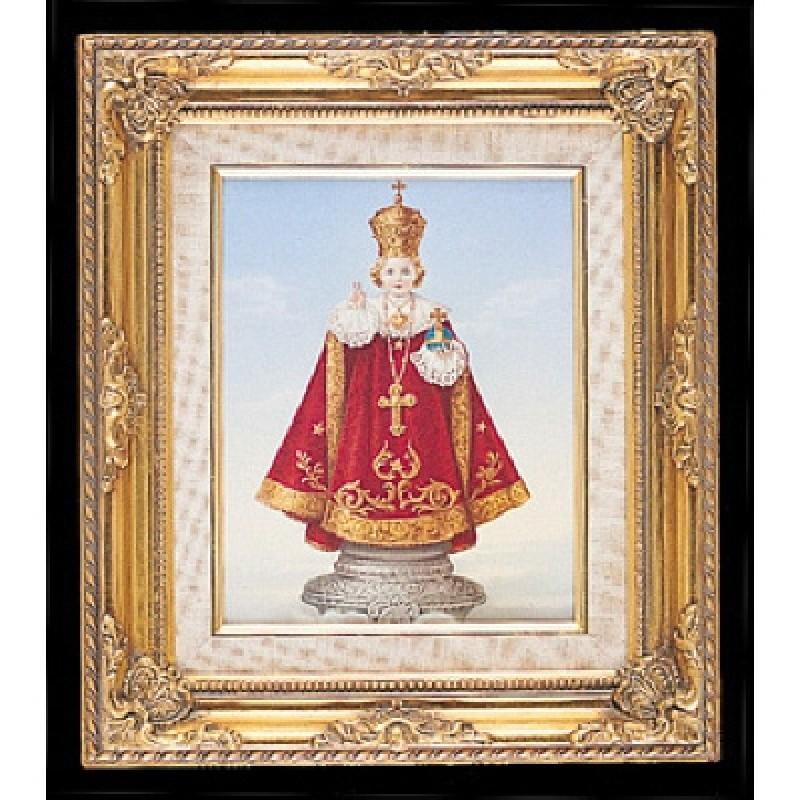 FRAMED ART GOLD INFANT OF PRAGUADALUPEE