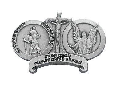ST CHRIS GRANDSON VISOR CLIP