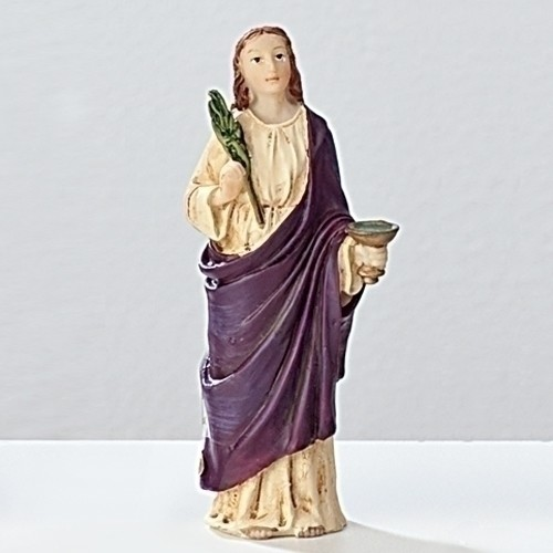 "3.5"" ST. LUCY FIGURE"