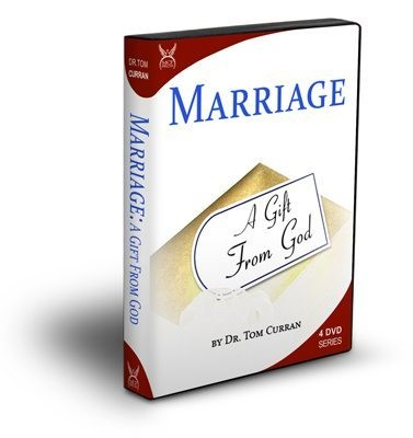MARRIAGE A Gift From God by Dr Tom Curran 4 DVDs
