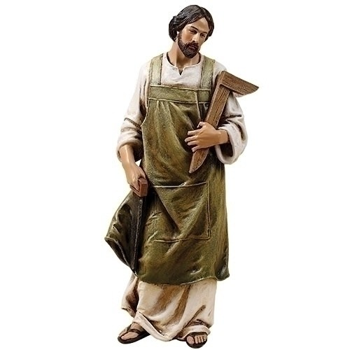 "10"" ST JOSEPH THE WORKER FIGURE"