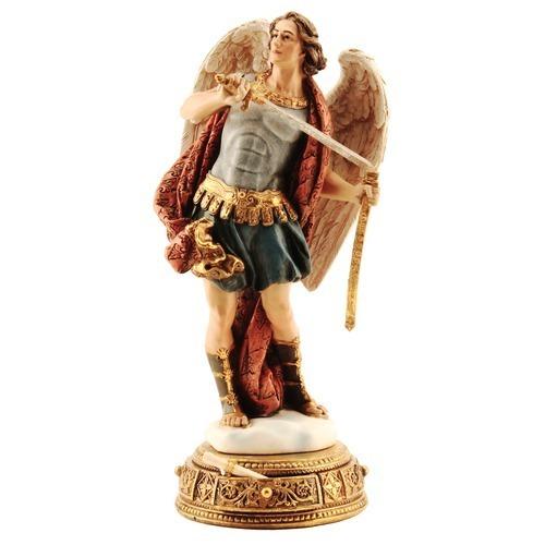 "St. Michael Figurine 10.25"""
