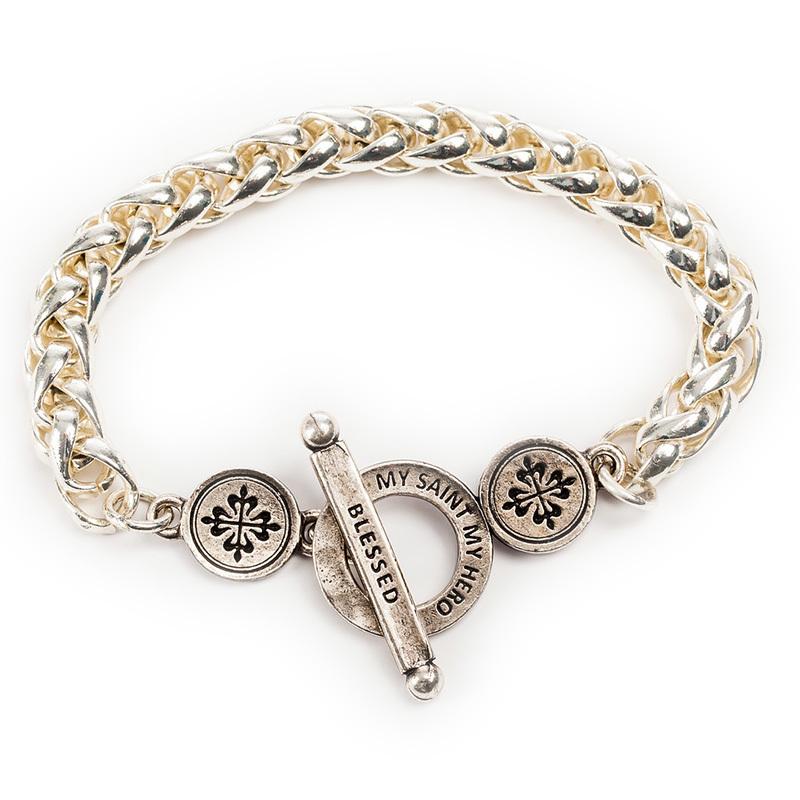 Blessed Link Bracelet - Silver (My Saint My Hero)
